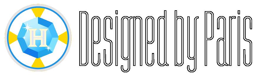 Designed by Paris Logo Mark