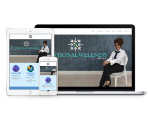 The Intentional Wellness Group Website Designed by Paris