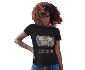 Philadelphia Museum of Art Concept AR T-Shirt