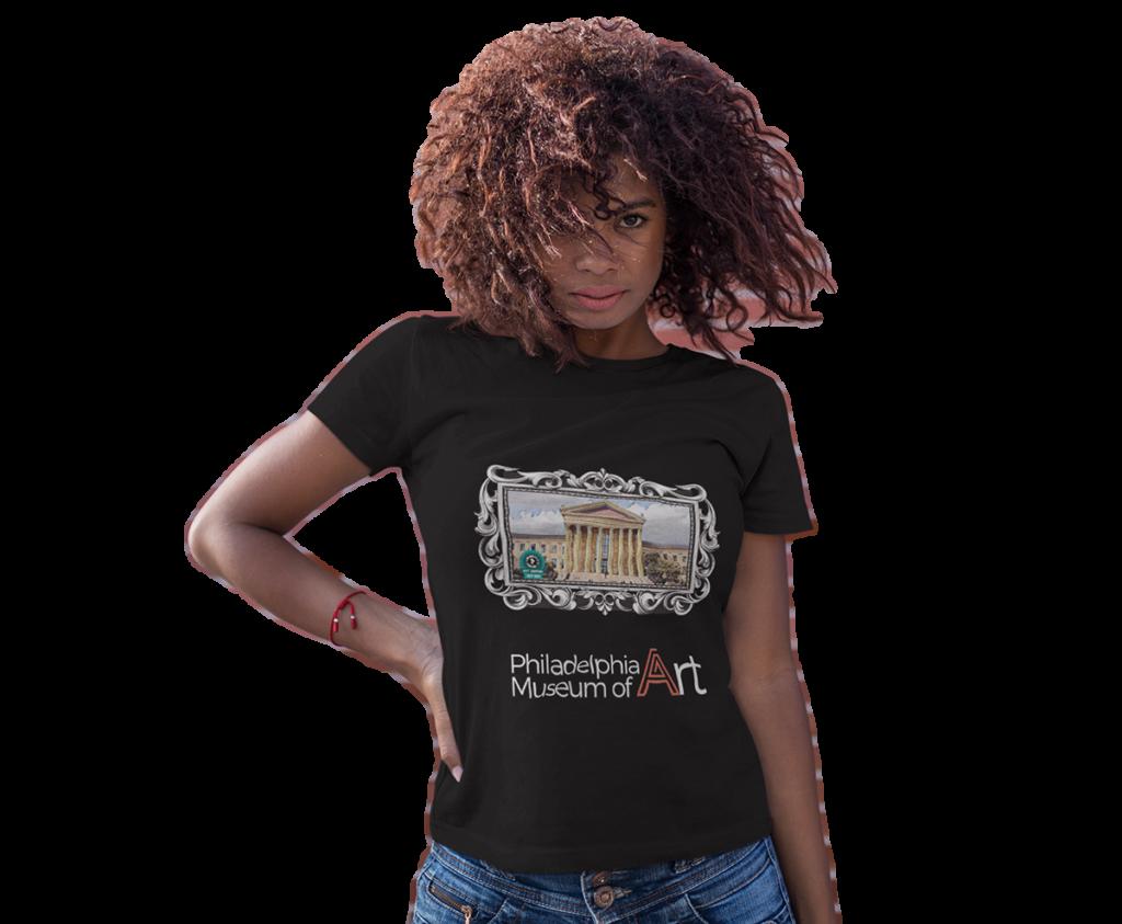 Philadelphia Museum of Art Concept AR T-Shirt